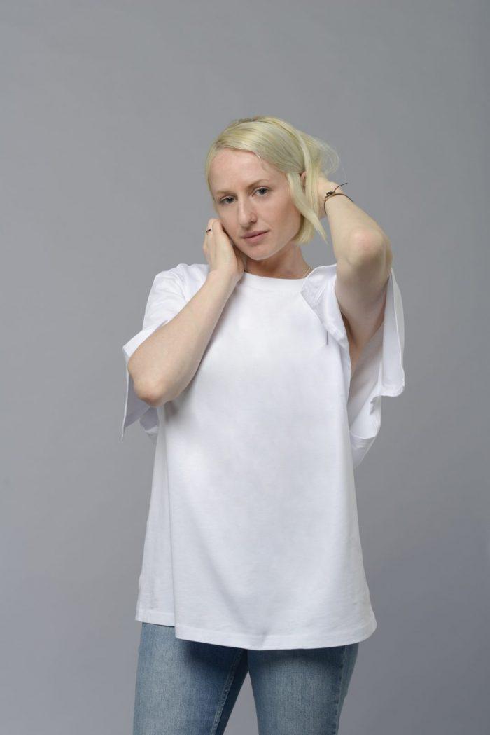 Split Oversize T-Shirt