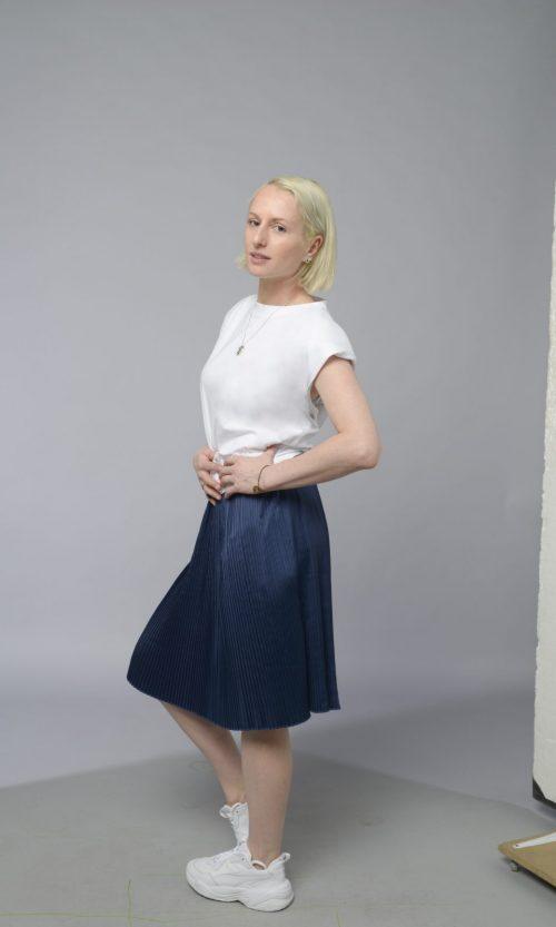Merkaiy Pleat  Skirt