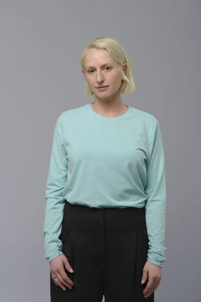 Long sleeve jersey top